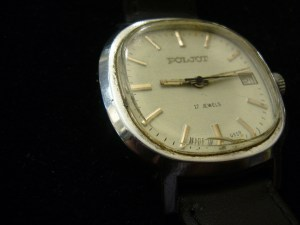 3766a857f Náramkové hodinky, pánské - POLJOT   Antik v Dlouhé